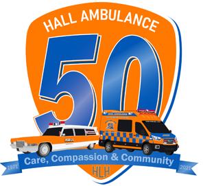 Hall Ambulance 50 Years of Service